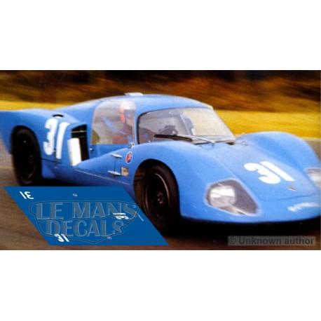 Matra MS630 - Le Mans Test 1967 nº31