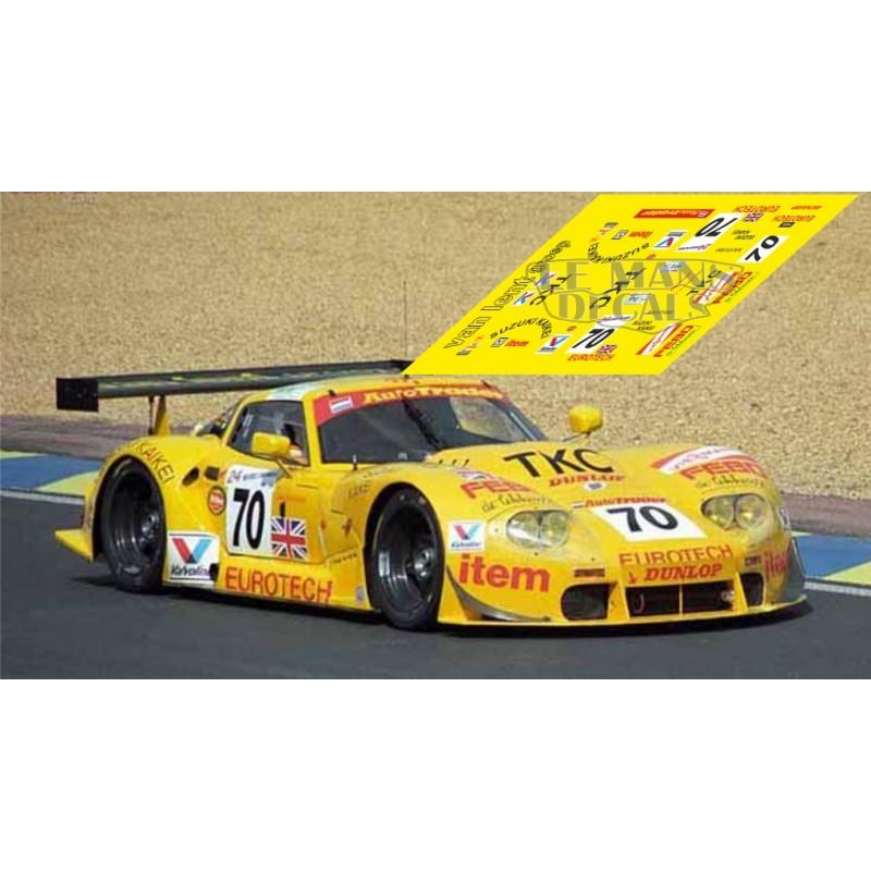 Marcos LM600 - Le Mans 1997 nº70 - LEMANSDECALS