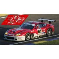 Ferrari 575 GTC - Le Mans 2004 nº61