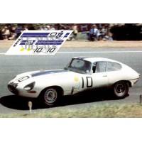 Jaguar E Type Lightweight - Le Mans 1962 nº10