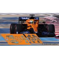 McLaren MCL35M Policar Slot - Bahrain GP 2021 nº3 + CARBON