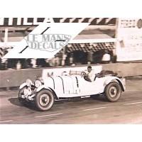 Mercedes SS - Le Mans 1930 nº1