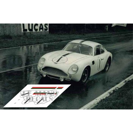 Aston MArtin DB4 GT Zagato - Le Mans 1961 nº1