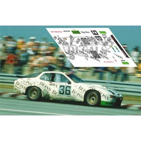 Porsche 924 GTR - Le Mans 1981 nº36