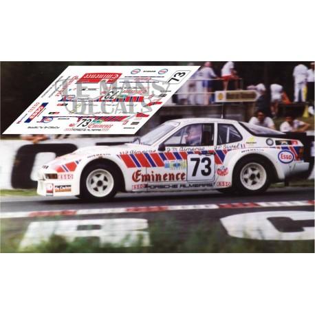 Porsche 924 GTR - Le Mans 1981 nº73