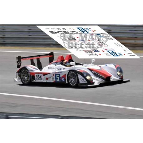 Porsche RS Spyder - Le Mans 2009 nº5