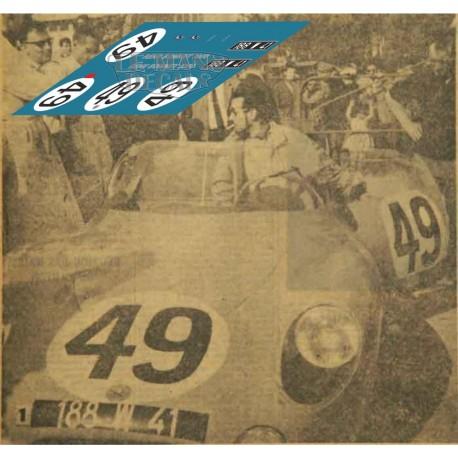 Rene Bonnet Djet - Le Mans 1962 nº49