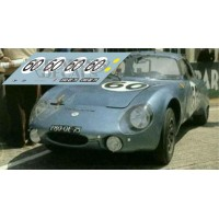 Rene Bonnet AeroDjet - Le Mans 1964 nº60