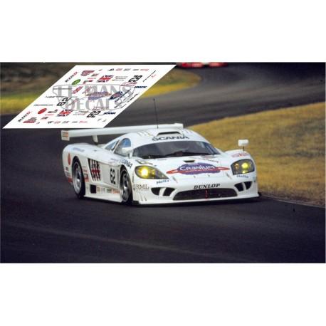 Saleen S7R - Le Mans 2001 nº62