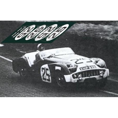 Triumph TR3S - Le Mans 1959 nº25