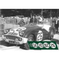 Triumph TR3S - Le Mans 1959 nº26