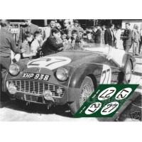 Triumph TR3S - Le Mans 1959 nº27