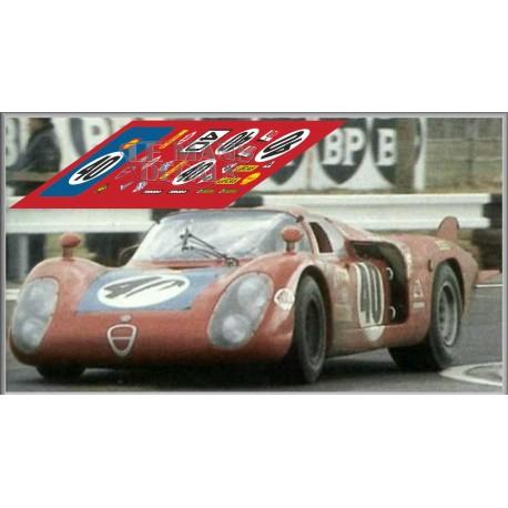 Alfa Romeo 33/2 - Le Mans 1968 nº37