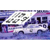 Porsche 911S - Le Mans 1967 nº 42