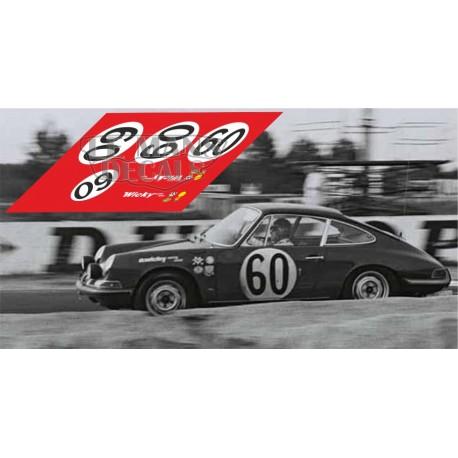 Porsche 911S - Le Mans 1967 nº 60