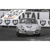 Porsche 911S - Le Mans 1967 nº 67