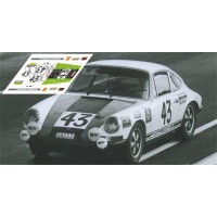 Porsche 911S - Le Mans 1968 nº 43