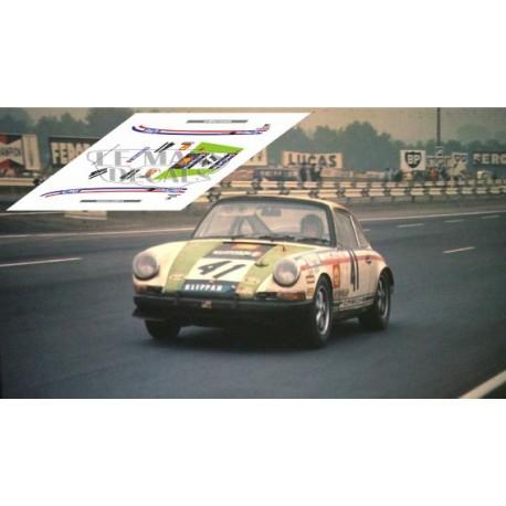 Porsche 911S - Le Mans 1969 nº 41