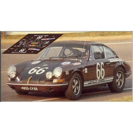 Porsche 911S - Le Mans 1969 nº 66
