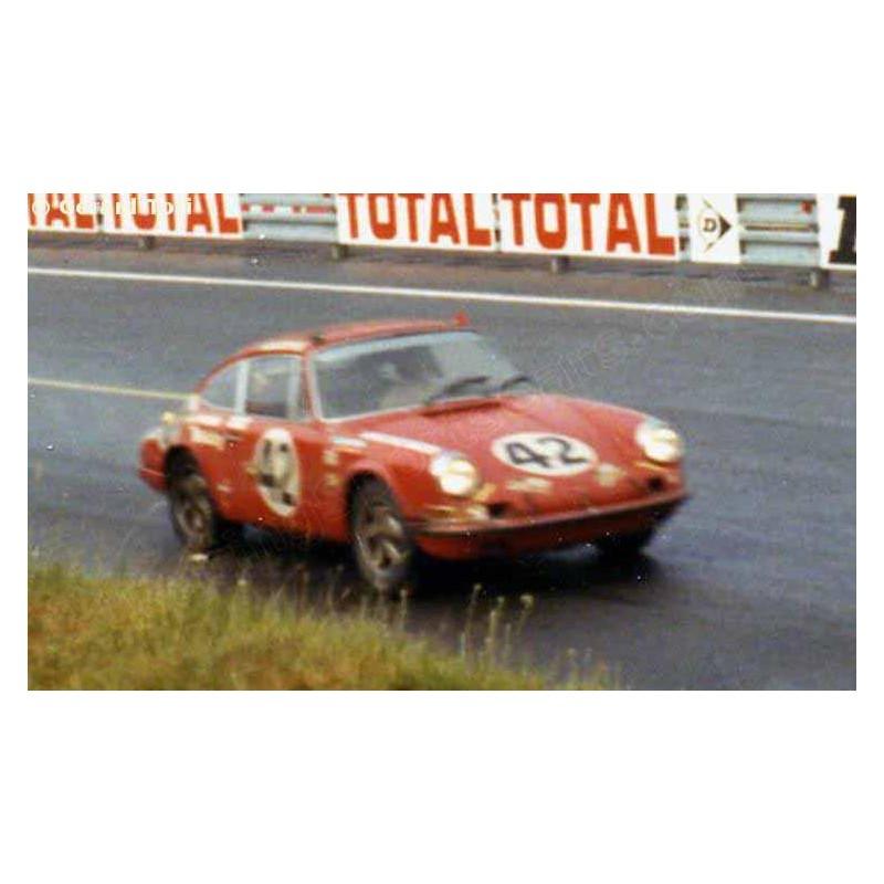 Porsche 911s Le Mans 1970 N 186 42 Lemansdecals