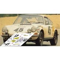 Porsche 911S - Le Mans 1970 nº 45