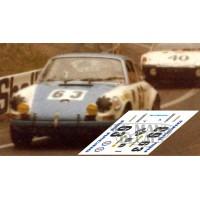 Porsche 911S - Le Mans 1970 nº 63