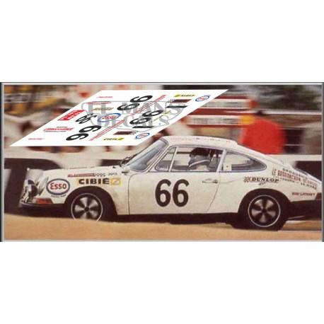 Porsche 911S - Le Mans 1970 nº 66