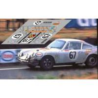 Porsche 911S - Le Mans 1970 nº 67