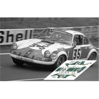 Porsche 911S - Le Mans 1971 nº 35