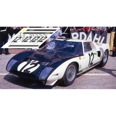 Ford GT40 - Le Mans 1964 nº 12