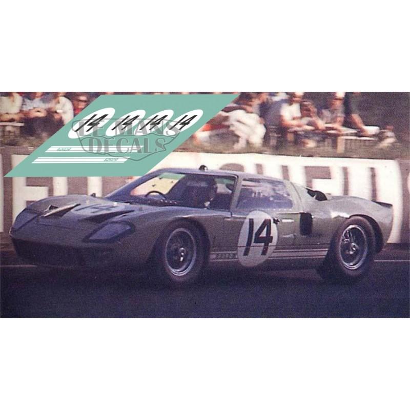 Le Mans 1965 Nº 14