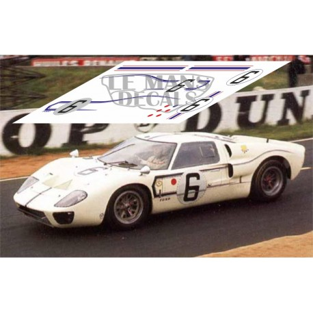 Ford MkII B - Le Mans 1967 nº 6