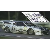 BMW M1 - Le Mans 1980 nº95