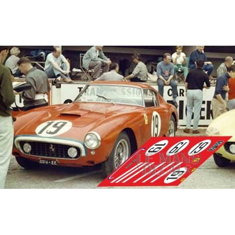 Ferrari 250 GT SWB - Le Mans 1960 nº19