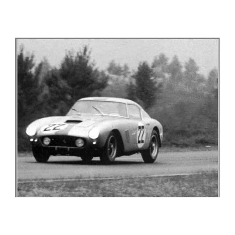 Ferrari 250 Gt Swb Le Mans 1960 N 186 22 Lemansdecals