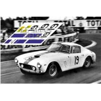 Ferrari 250 GT SWB - Le Mans 1961 nº19