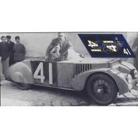 Chenard & Walcker Tank - Le Mans 1937 nº40