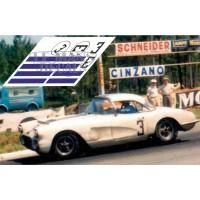 Corvette C1 - Le Mans 1960 nº3