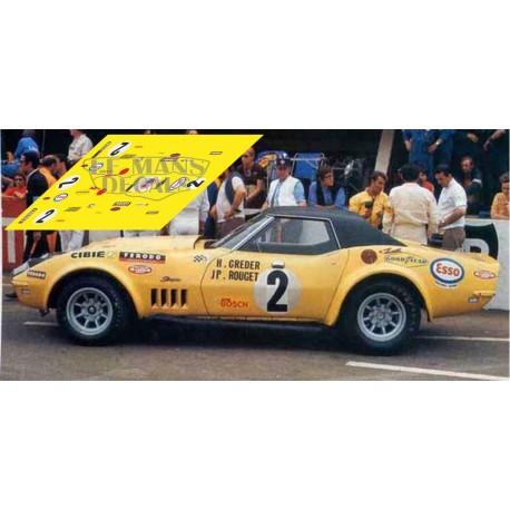Corvette C3 L88 - Le Mans 1970 nº2