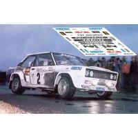 Fiat 131 Abarth - Rallye Montecarlo 1977 nº2
