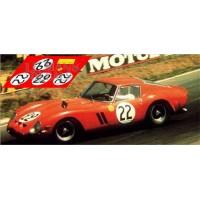 Ferrari 250 GTO - Le Mans 1962 nº22