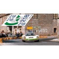 Porsche 910 - Targa Florio 1967 nº 218