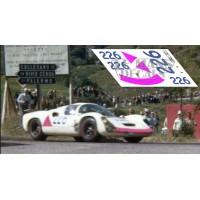 Porsche 910 - Targa Florio 1967 nº 226