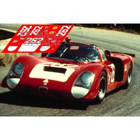Alfa Romeo 33/2 - Targa Florio 1969 nº262
