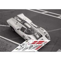 Lola T70 MkIIIb - Le Mans Test 1970 nº17