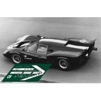 Lola T70 MkIII - Le Mans 1967 nº11