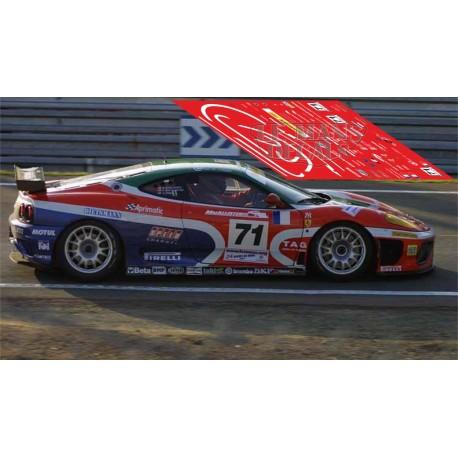Ferrari 360 Modena - Le Mans 2002 nº71