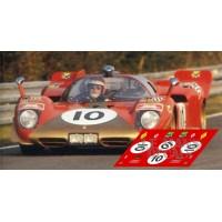 Ferrari 512S - Le Mans 1970 nº10