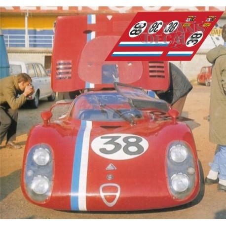 Alfa Romeo 33/2 - Le Mans Test 1968 nº38