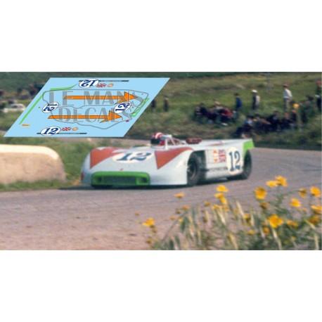 Porsche 908/03 - Targa Florio 1970 nº12